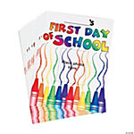 """First Day of School"" Photo Cards"