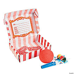 Carnival Invitations In A Box