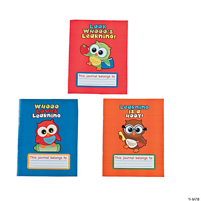 Owl Writing Journals