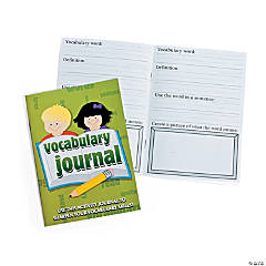 Vocabulary Journal Workbooks