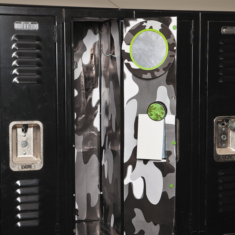 Camouflage Locker Décor Set