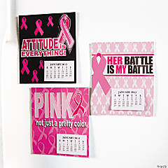 2013 Pink Ribbon Magnetic Calendars