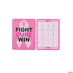 2013 Pink Ribbon Wallet Card Calendars
