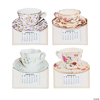 2013 Magnetic Tea Cup Calendars