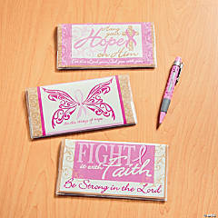 2013 - 2014 Religious Pink Ribbon Pocket Planners