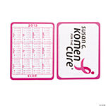 2013 Running Ribbon Calendar Wallet Cards
