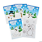Winter Wonderland Coloring Books