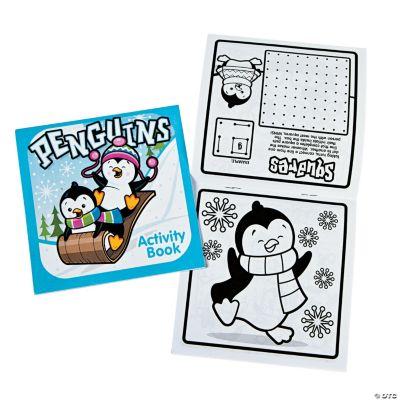 Winter Fun & Games Activity Books