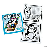 Winter Fun & Games Activity Books