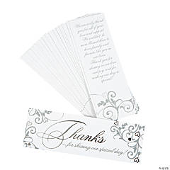 Wedding Appreciation Cards