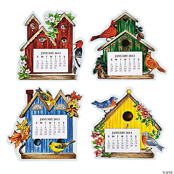 2013 Magnetic Birdhouse Calendars