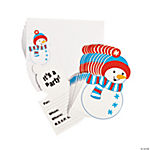 Snowman Invitations - 12 pcs.