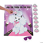 """Pin The Tiara On The Pup"" Game"