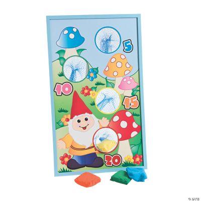 Gnome Bean Bag Toss Game