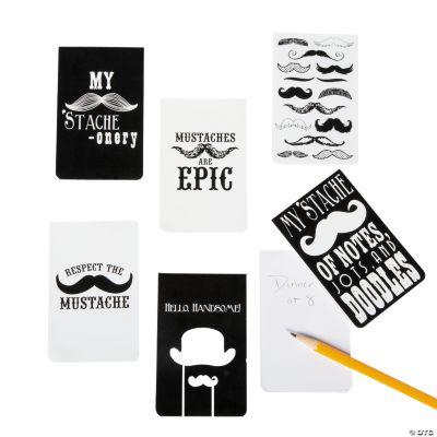 Mustache Notepads