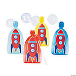 Rocket Ship Character Bubble Bottles