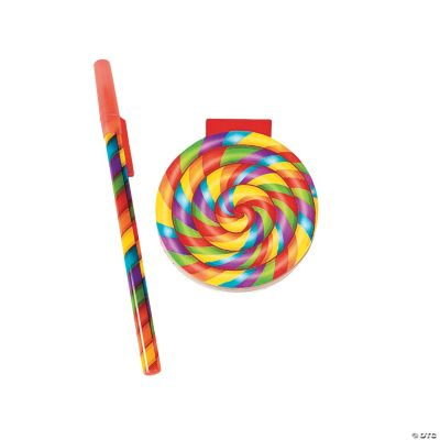 Pen And Lollipop Notepads
