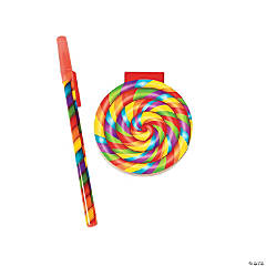 Pen And Lollipop Notepads