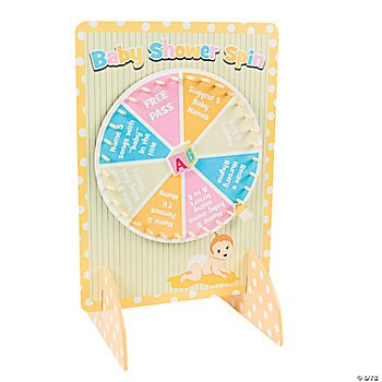 baby shower spinner game