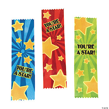 """You're A Star!"" Ribbons"
