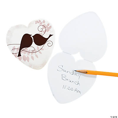 Love Birds Notepads