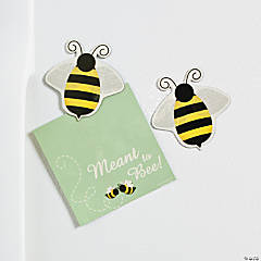 """Meant To Bee"" Cards With Bee Magnet"