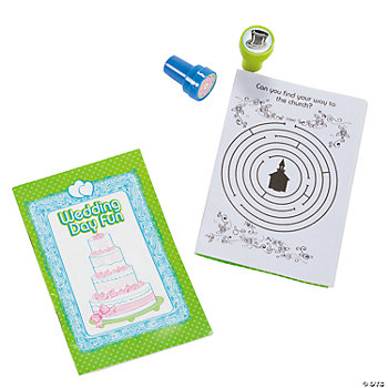 Kids' Wedding Stamper & Notepad Sets