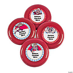 Personalized Mini Carnival Flying Discs