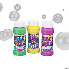 """Wild & Crazy"" Bubble Bottles"