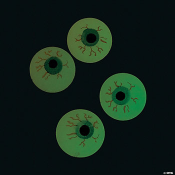 Glow-In-The-Dark Bouncing Eyeballs