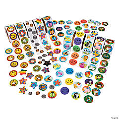Super Rolls of Stickers Assortment
