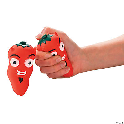 Chili Pepper Stress Toys