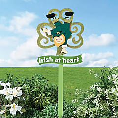 St. Patrick's Day Yard Stake