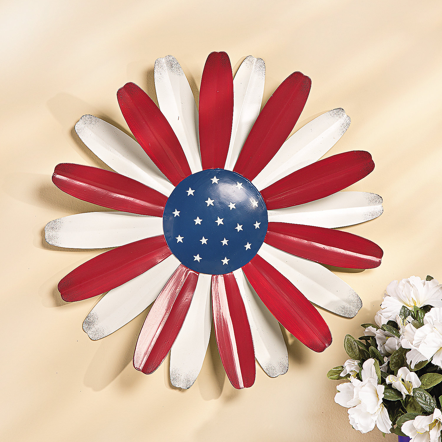 Patriotic Wall Flower Oriental Trading Discontinued