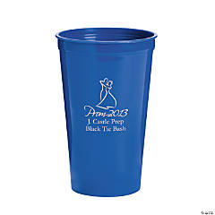 Personalized Blue 2013 Prom Night Tumblers