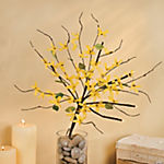Lighted Forsythia Stems