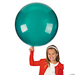 Emerald Green Round Latex Balloons - 36