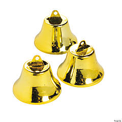 Large Goldtone Bells