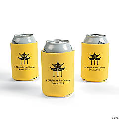 Personalized Asian Can Covers - Yellow