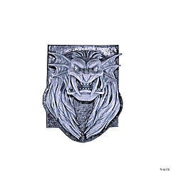 Lion Head Plaque
