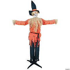 Standing Scarecrow With Moving Head