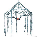 Spider Canopy Web With Light-Up Eyes