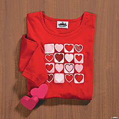 Heart Cluster Small T-Shirt