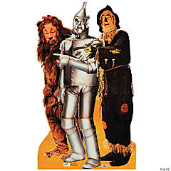 Lion, Tinman & Scarecrow - Wizard Of Oz Stand-Up