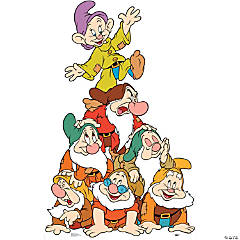Seven Dwarfs Group Stand-Up