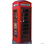 English Phone Booth Stand-Up