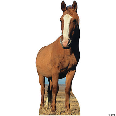Photorealistic Horse Stand-Up