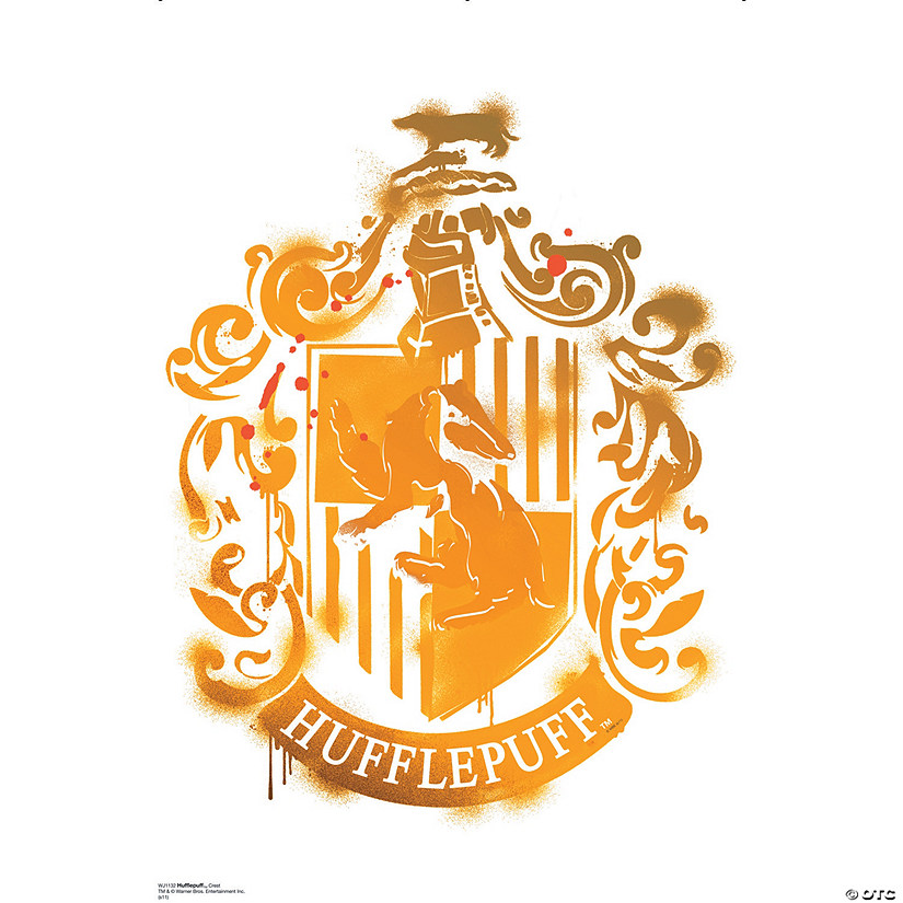 Hufflepuff Crest - Harry Potter 7 Wall Jammer™ Wall Decal