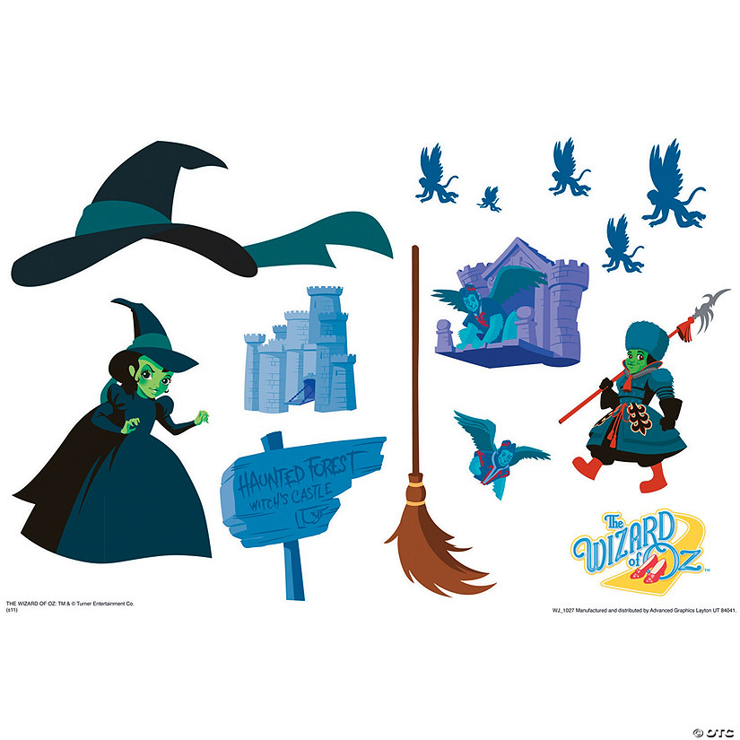 sc 1 st  Oriental Trading & Wizard Of Oz Haunted Forest Activity Set Wall Jammer™ Wall Decal
