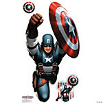 Captain America 4 ft. x 4 ft. Wall Jammer™